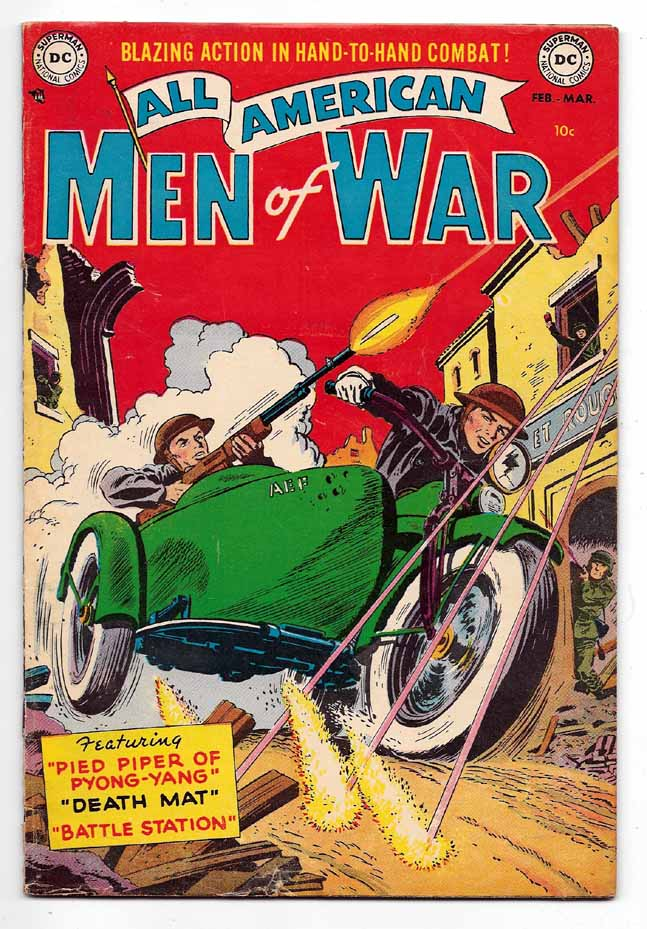 All-American Men of War #3 VG+ Front Cover