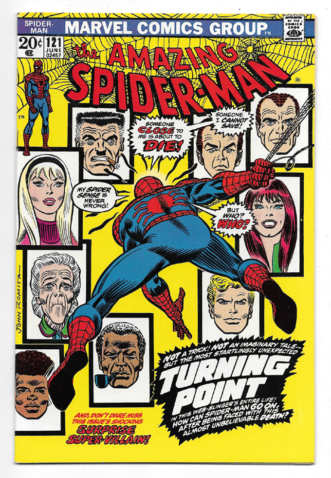 Amazing Spider-Man #121 NM Front Cover