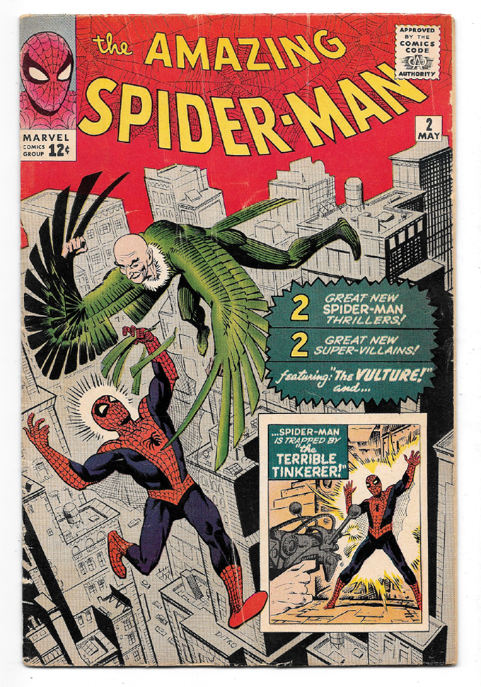 Amazing Spider-Man #2 VG+ Front Cover