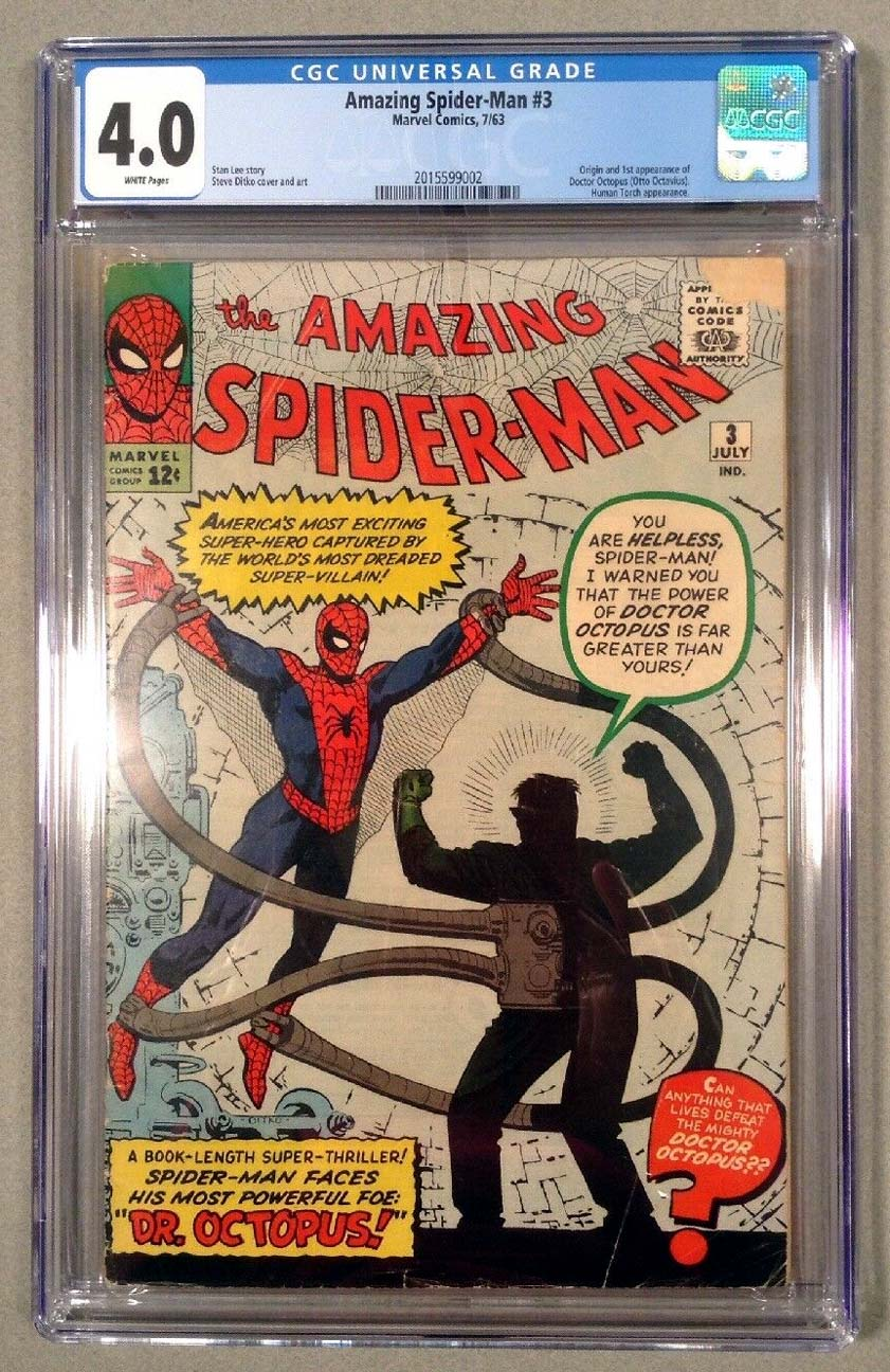 Amazing Spider-Man #3 CGC 4.0 Front Cover