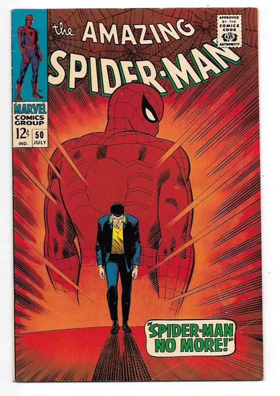 Amazing Spider-Man #50 F+ Front Cover