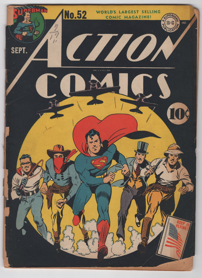 Action Comics #52 G Front Cover