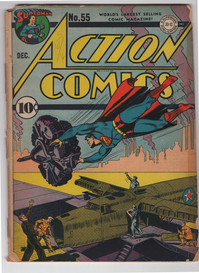 Action Comics #55 Fr Front Cover