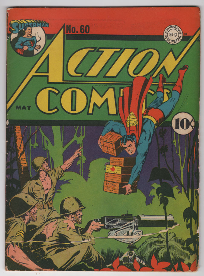 Action Comics #60 F Front Cover