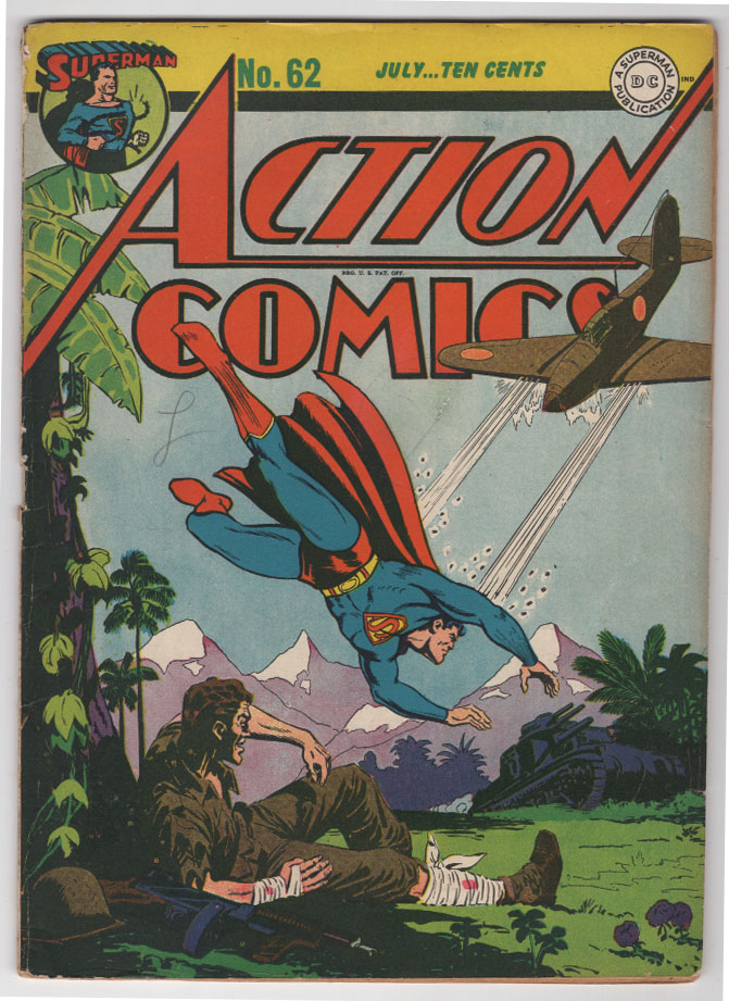 Action Comics #62 F Front Cover
