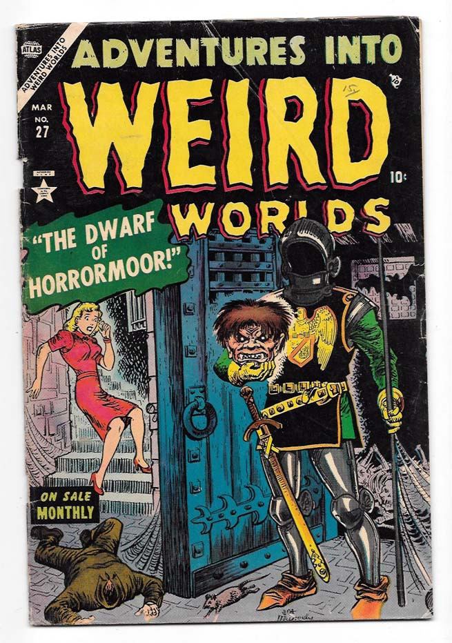 Adventures into Weird Worlds #27 VG+ Front Cover