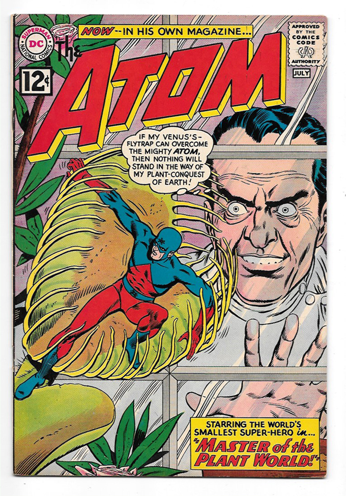 Atom #1 VF/NM Front Cover