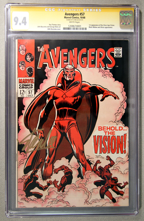 Avengers #57 CGC 9.4 Front Cover