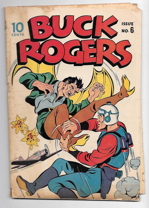 Buck Rogers #6 G+ Front Cover