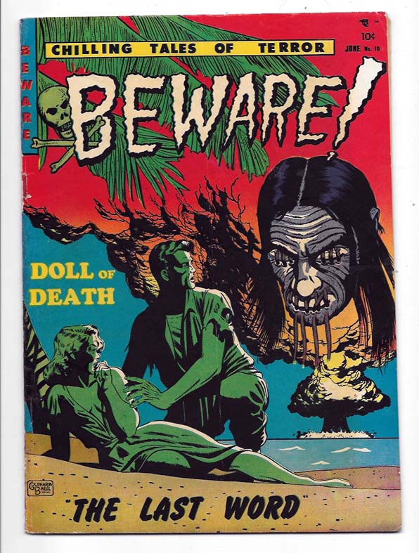 Beware (Golden Age) #10 F/VF Front Cover