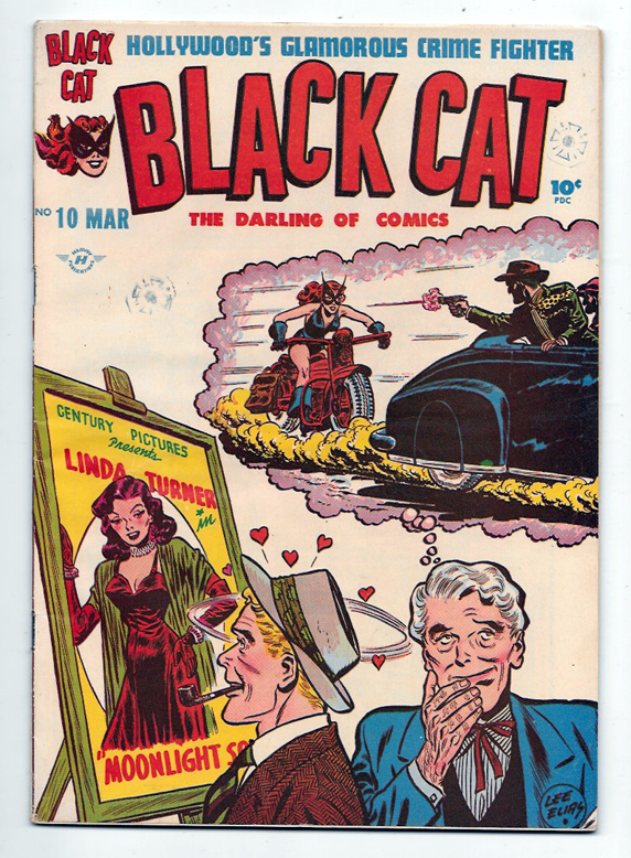 Black Cat (Comics, Mystery, Mystic, Western) #10 VF/NM Front Cover