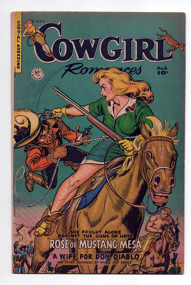 Cowgirl Romances #6 F/F+ Front Cover