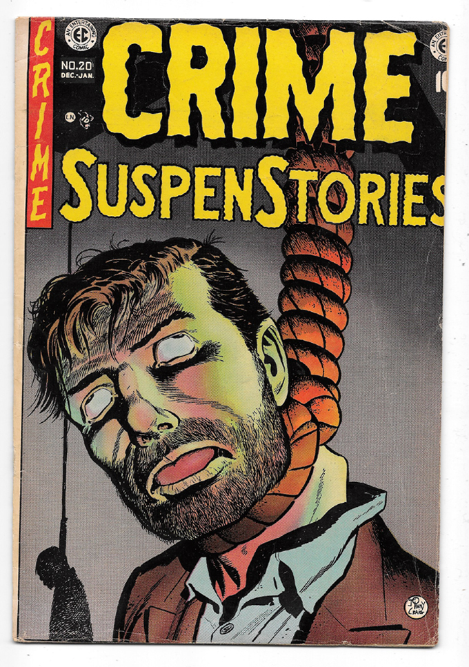 Crime Suspenstories #20 VG/F Front Cover