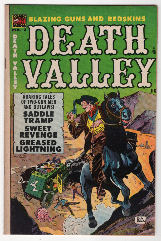 Death Valley #3 VF+ Front Cover