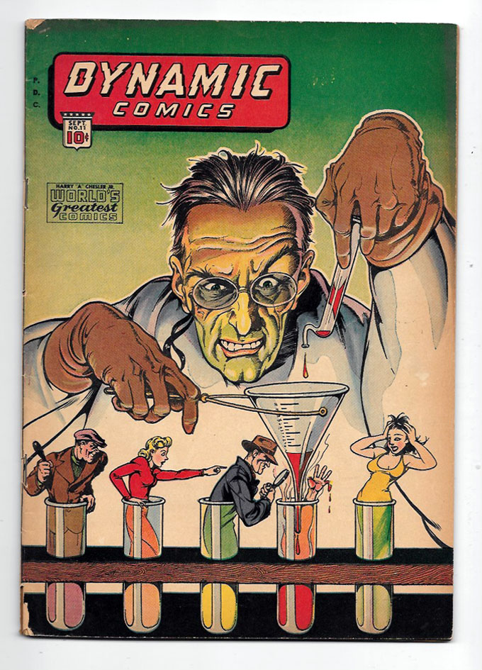Dynamic Comics #11 VG+ Front Cover