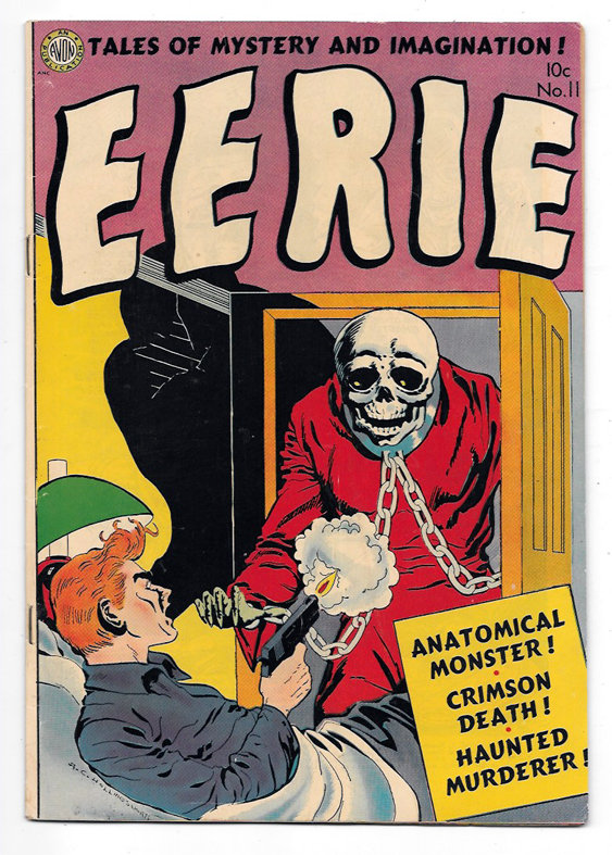 Eerie #11 VF Front Cover