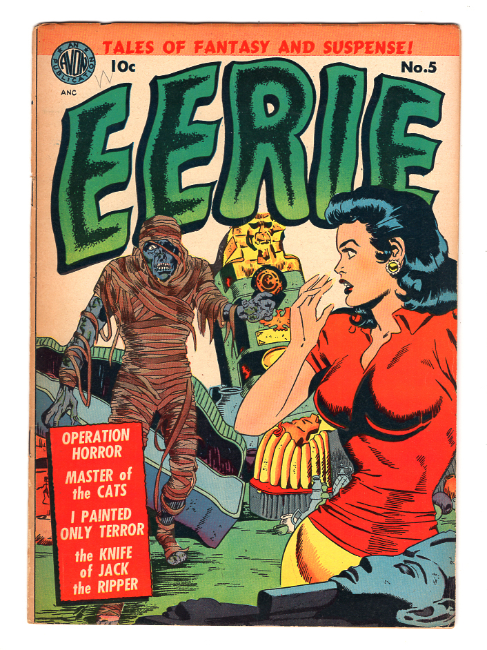 Eerie #5 F+ Front Cover