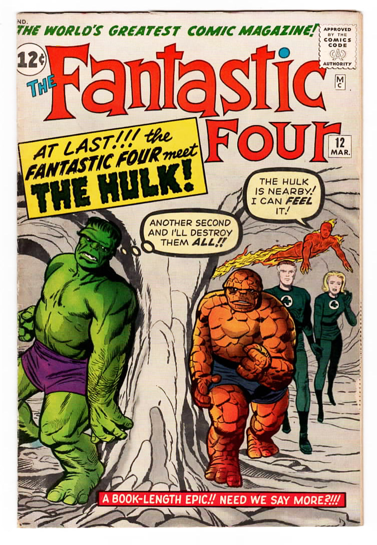 Fantastic Four #12 VF-/VF Front Cover