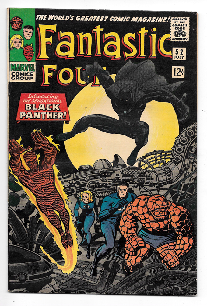 Fantastic Four #52 F+ Front Cover