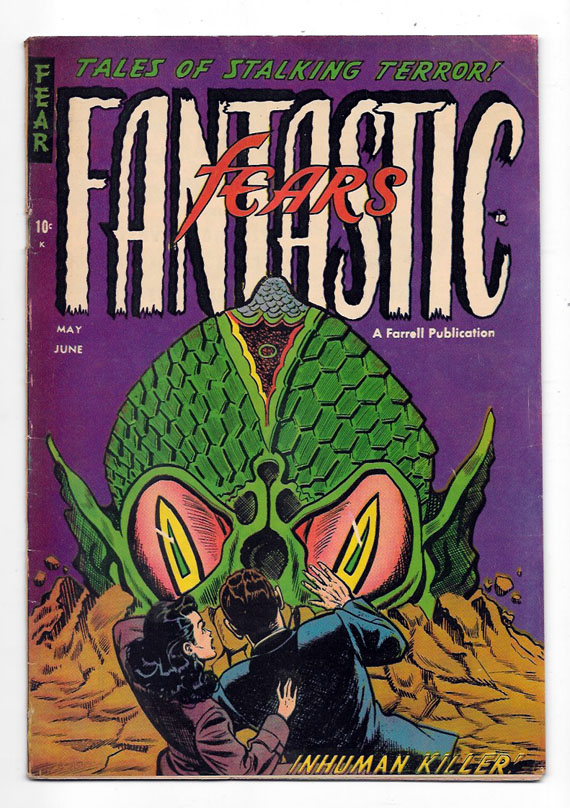 Fantastic Fears #7 F+ Front Cover