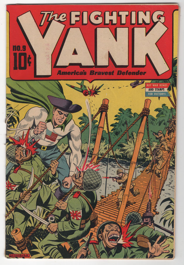 Fighting Yank #9 VG/F Front Cover