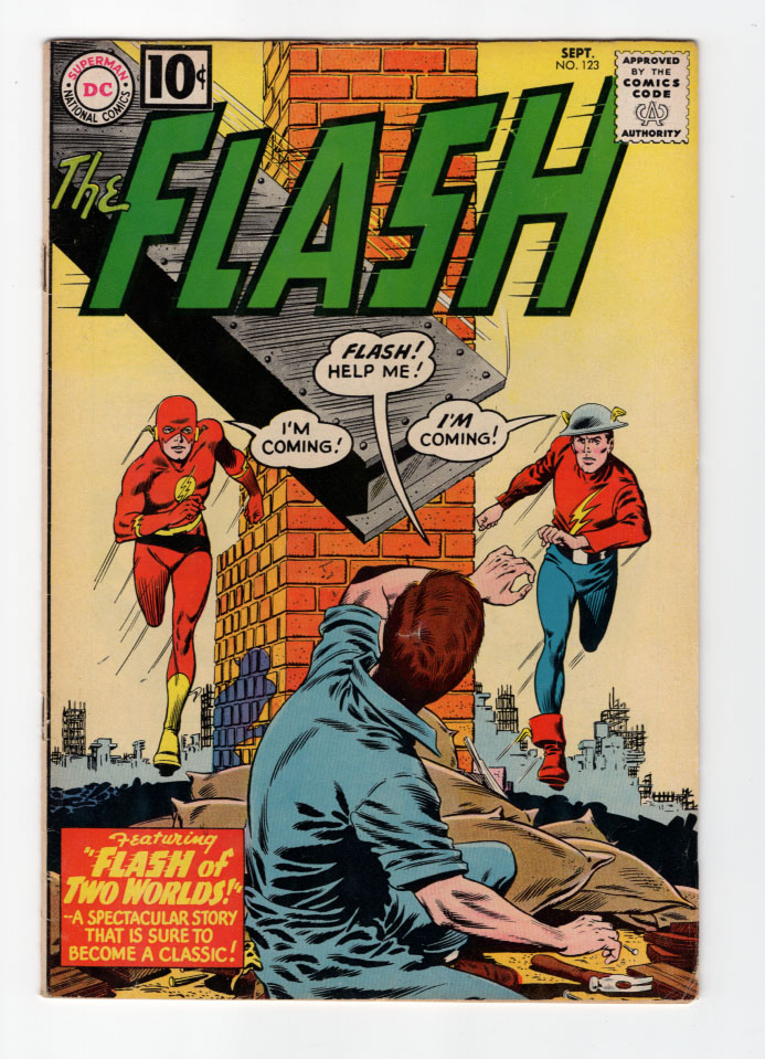 Flash (Silver Age) #123 VF- Front Cover