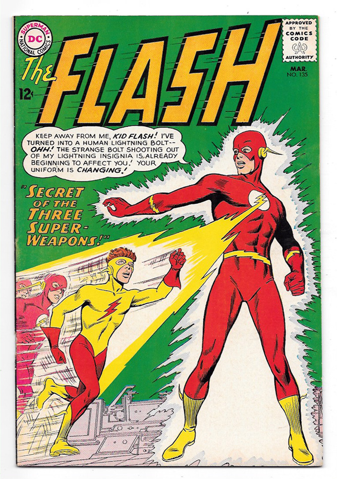 Flash (Silver Age) #135 VF+ Front Cover