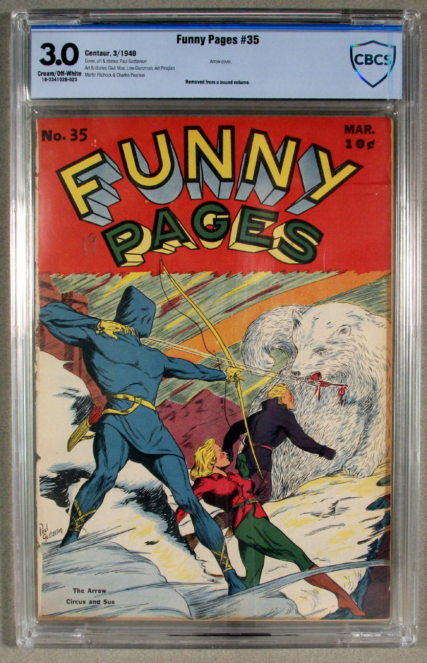 Funny Pages #35 CBCS 3.0 Front Cover