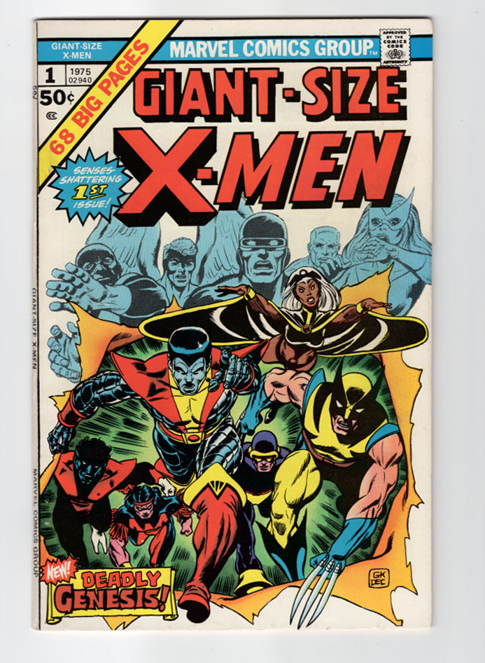 Giant Size X-Men #1 VF/NM Front Cover