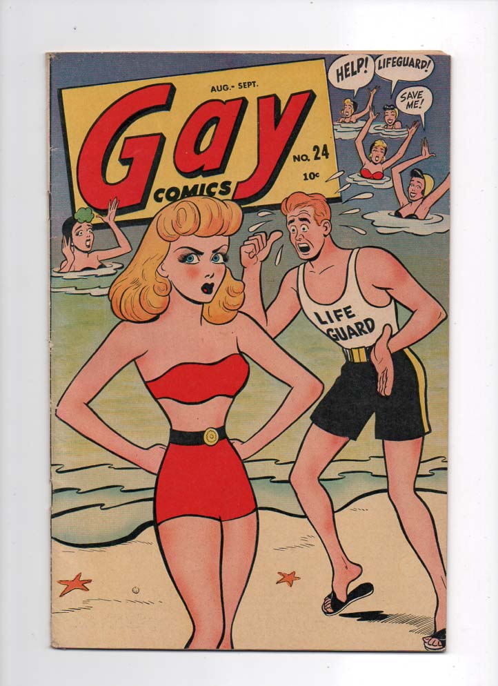 Gay Comics #24 VF Front Cover