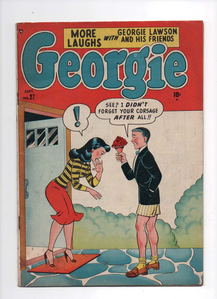 Georgie #27 F- Front Cover