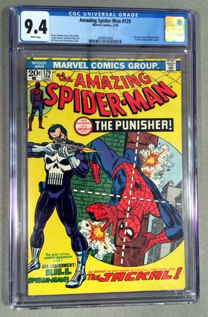Amazing Spider-Man #129 CGC 9.4 Front Cover