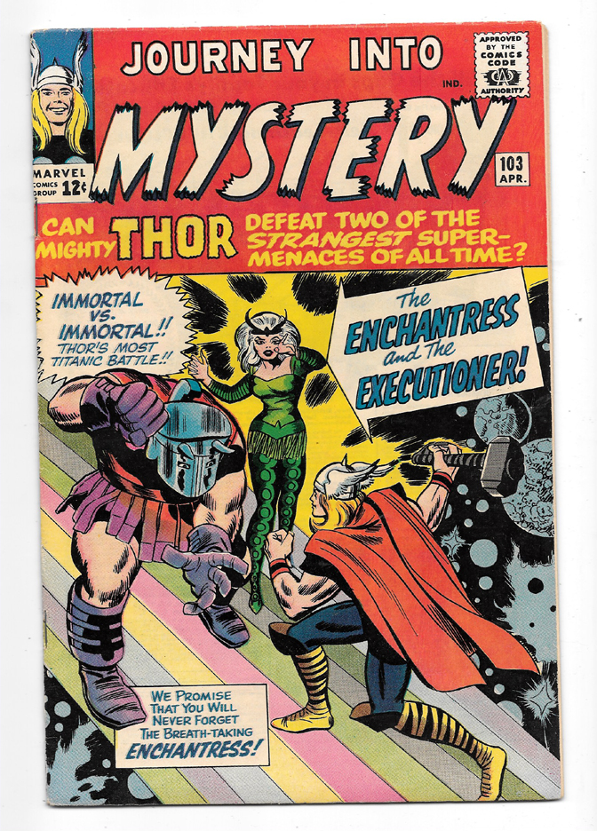 Journey Into Mystery (Thor) #103 VF/NM Front Cover
