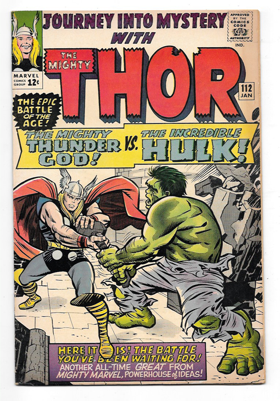 Journey Into Mystery (Thor) #112 F/VF Front Cover