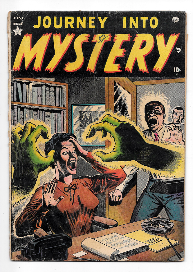 Journey Into Mystery (Pre-Hero) #1 G/VG Front Cover