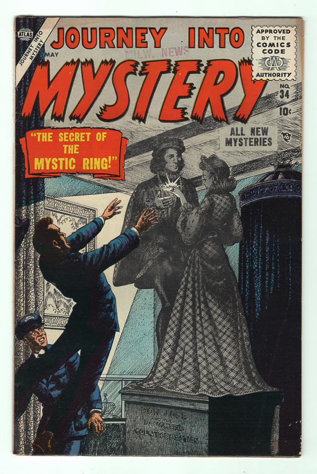 Journey Into Mystery (Pre-Hero) #34 F+ Front Cover