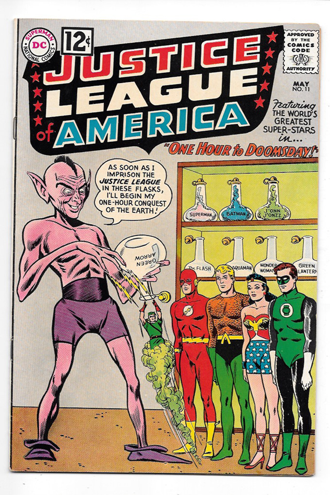 Justice League of America #11 VF/NM Front Cover