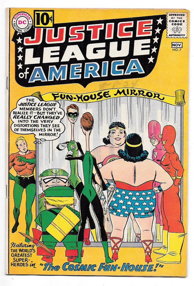 Justice League of America #7 VF+ Front Cover