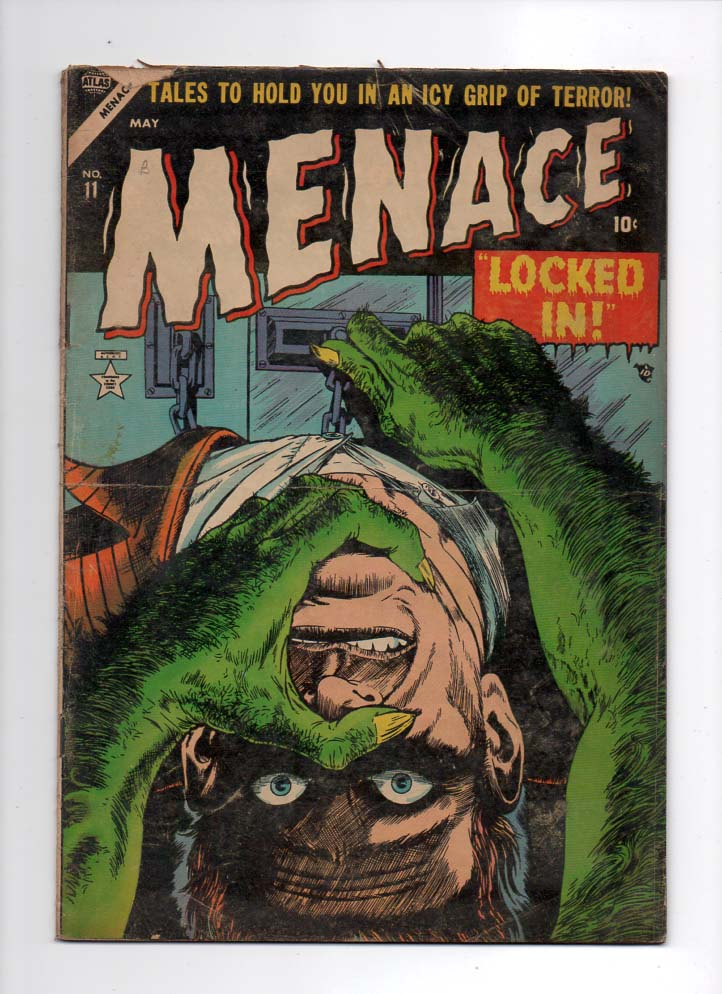 Menace #11 G/VG Front Cover