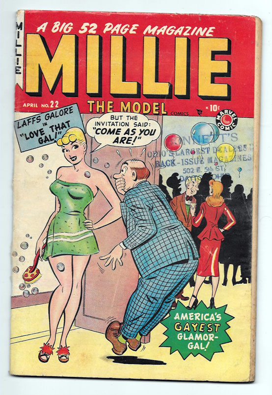 Millie the Model #22 VG+ Front Cover