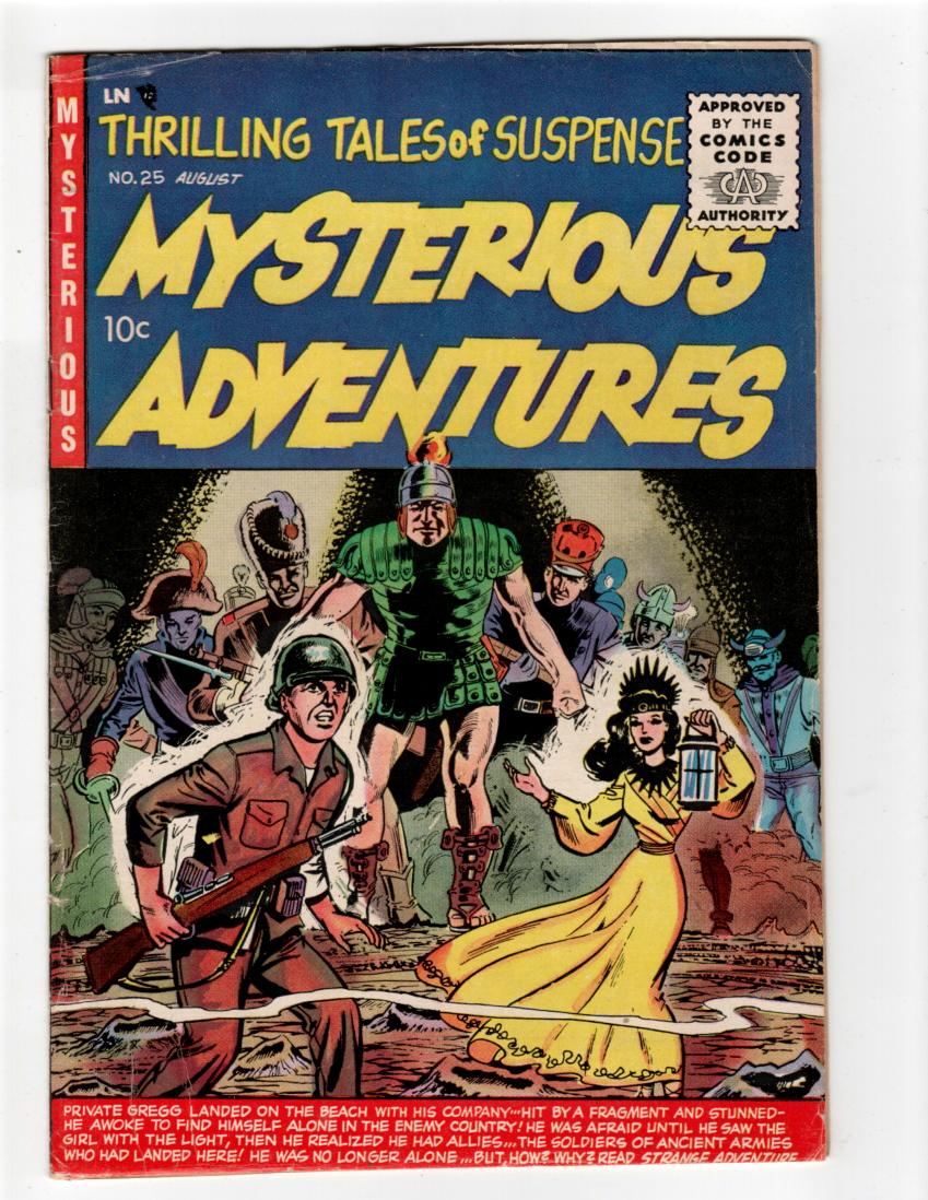 Mysterious Adventures #25 F- Front Cover