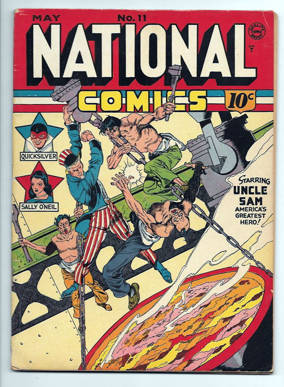National Comics #11 VG- Front Cover