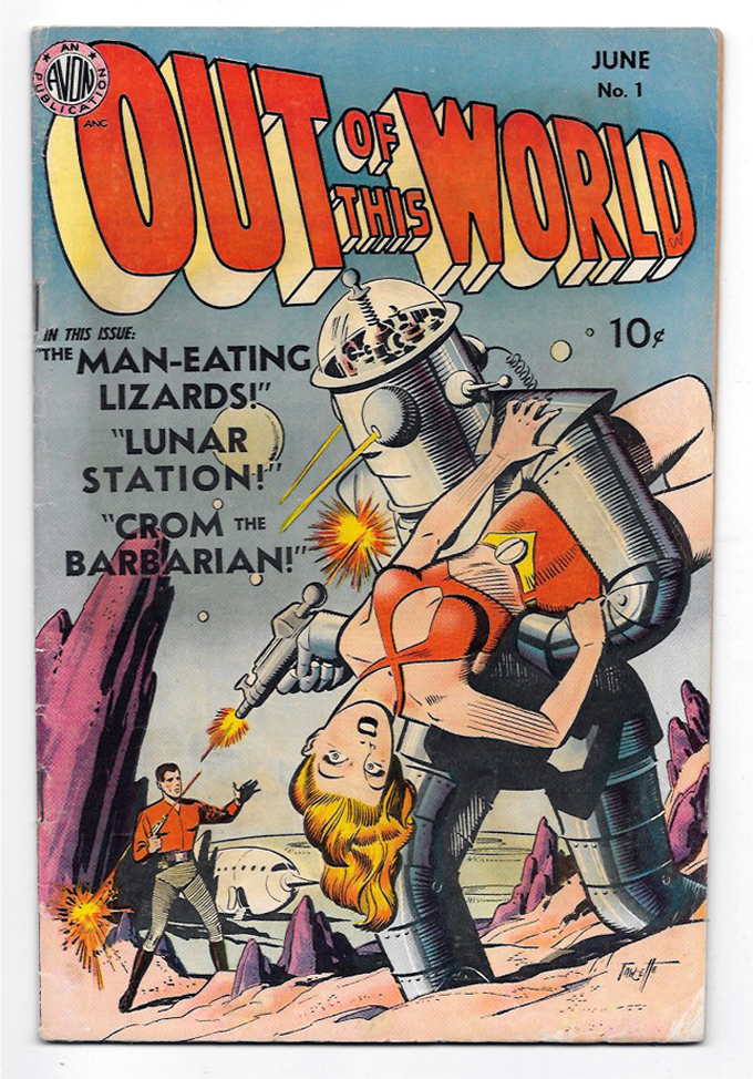 Out of This World #1 VG/F Front Cover