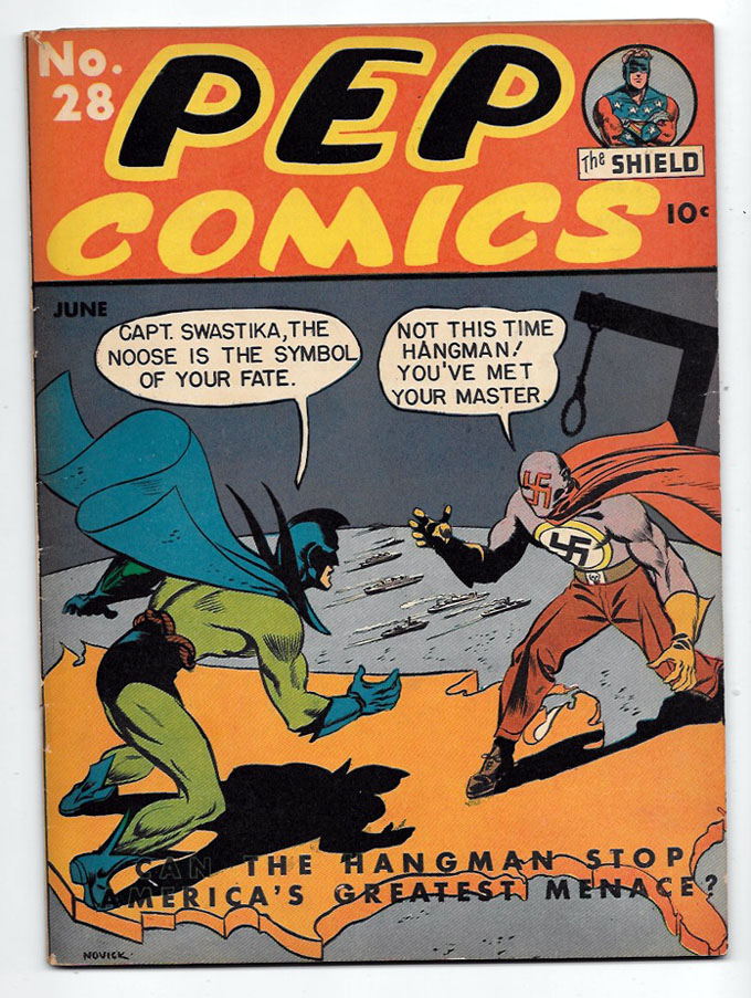 Pep Comics (Pre-Archie) #28 F+ Front Cover