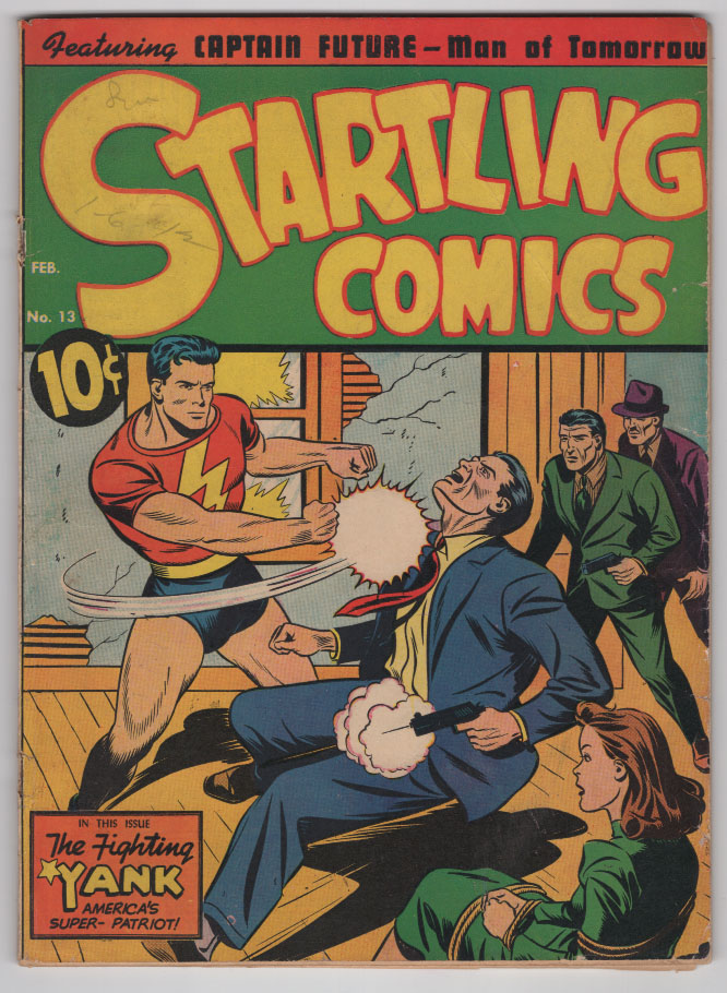 Startling Comics #13 VG+ Front Cover