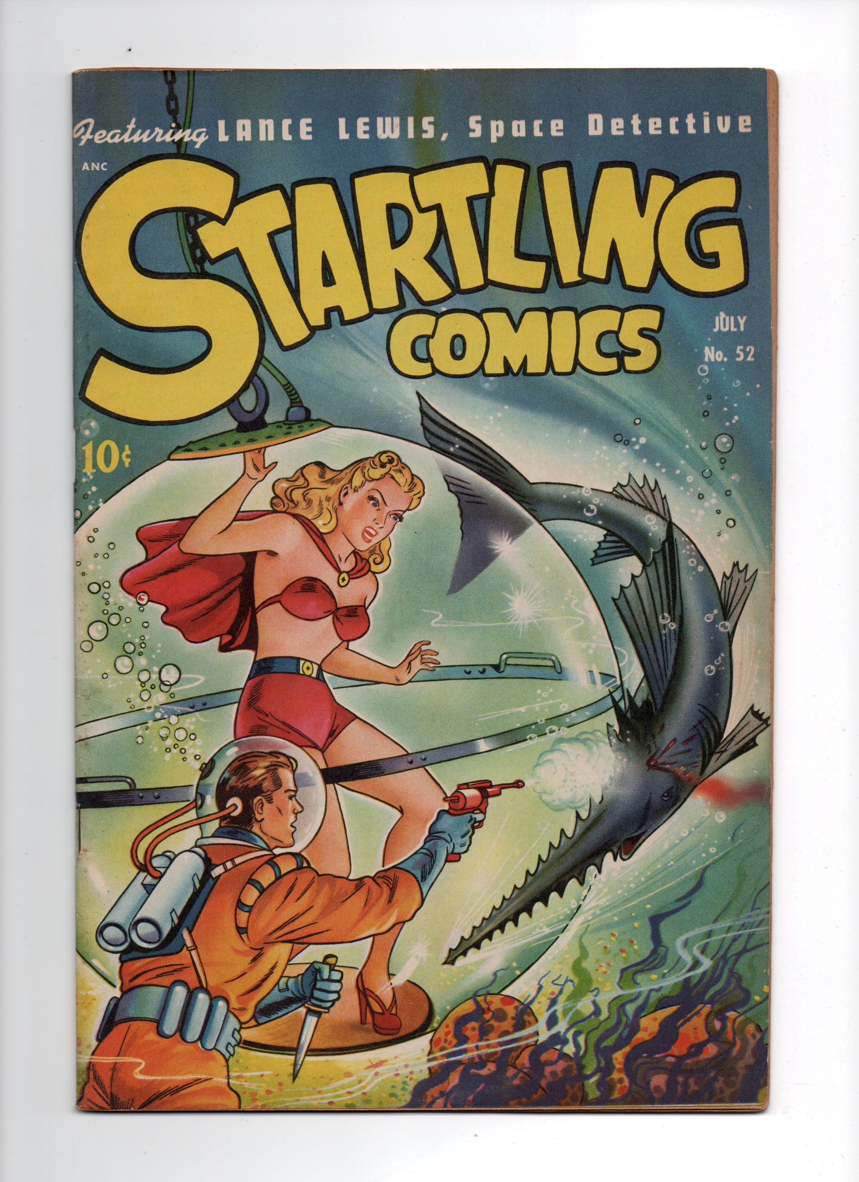 Startling Comics #52 VF-/VF Front Cover