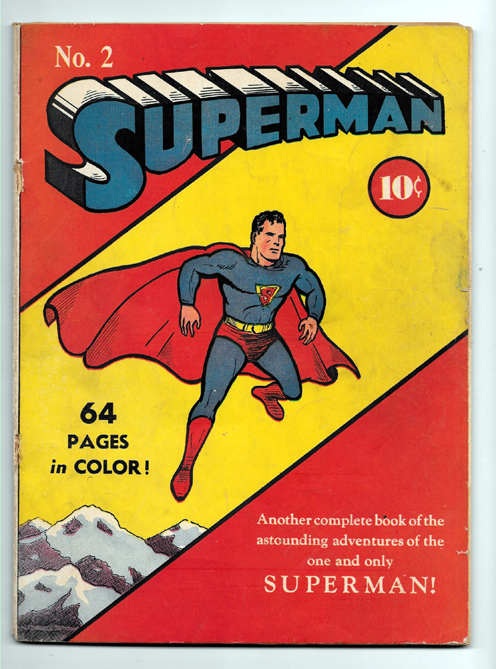 Superman #2 VG- Front Cover
