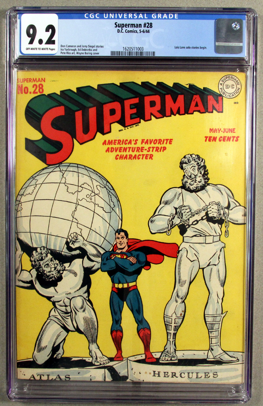 Superman #28 CGC 9.2 Front Cover