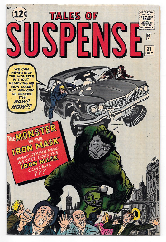 Tales of Suspense (Pre-Hero) #31 VF+ Front Cover