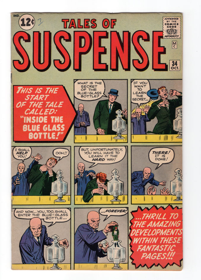 Tales of Suspense (Pre-Hero) #34 NM- Front Cover